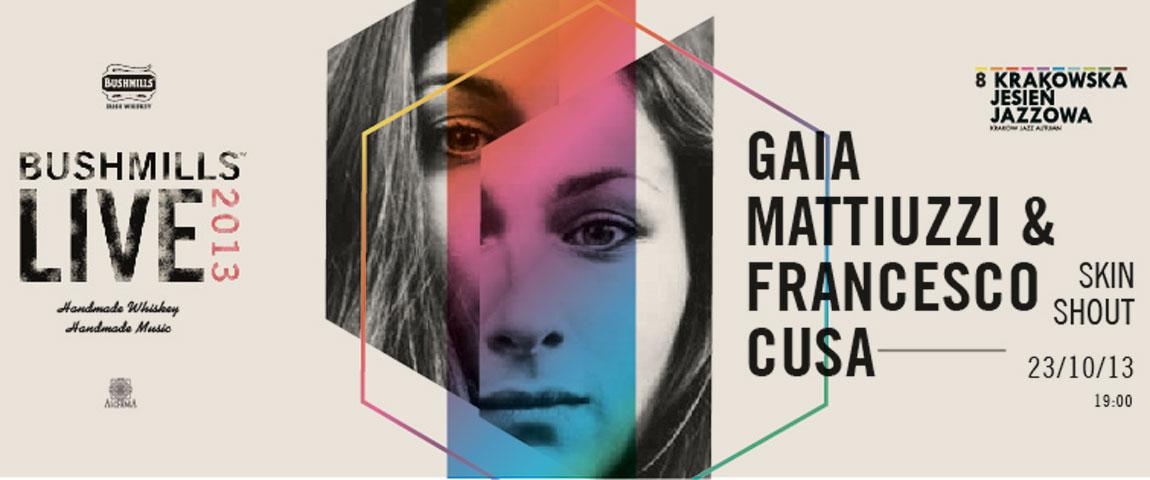 GAIA MATTIUZZI & FRANCESCO CUSA – Skin Shout